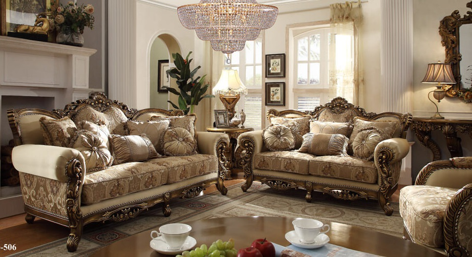 French Provincial Living Room 506