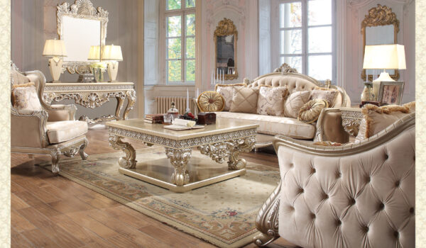 French Provincial Living Room 661 - Victorian Furniture