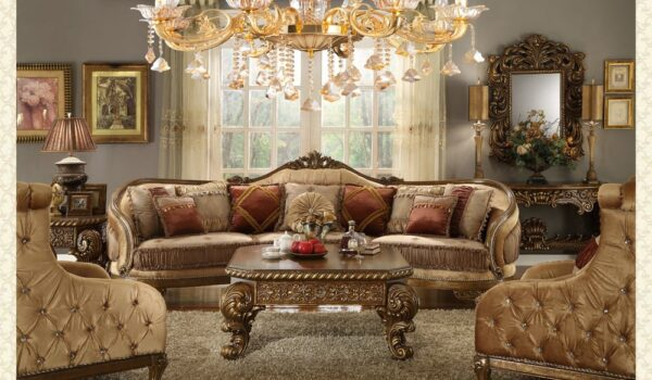 French Provincial Living Room # 8458