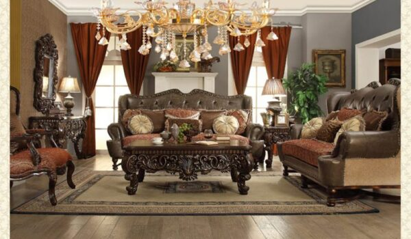 French Provincial Living Room # 9547