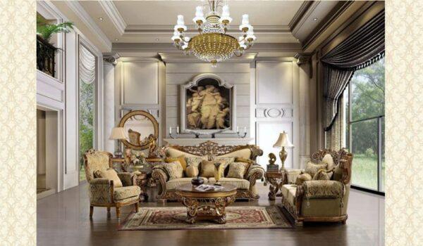 Victorian Living Room #9934