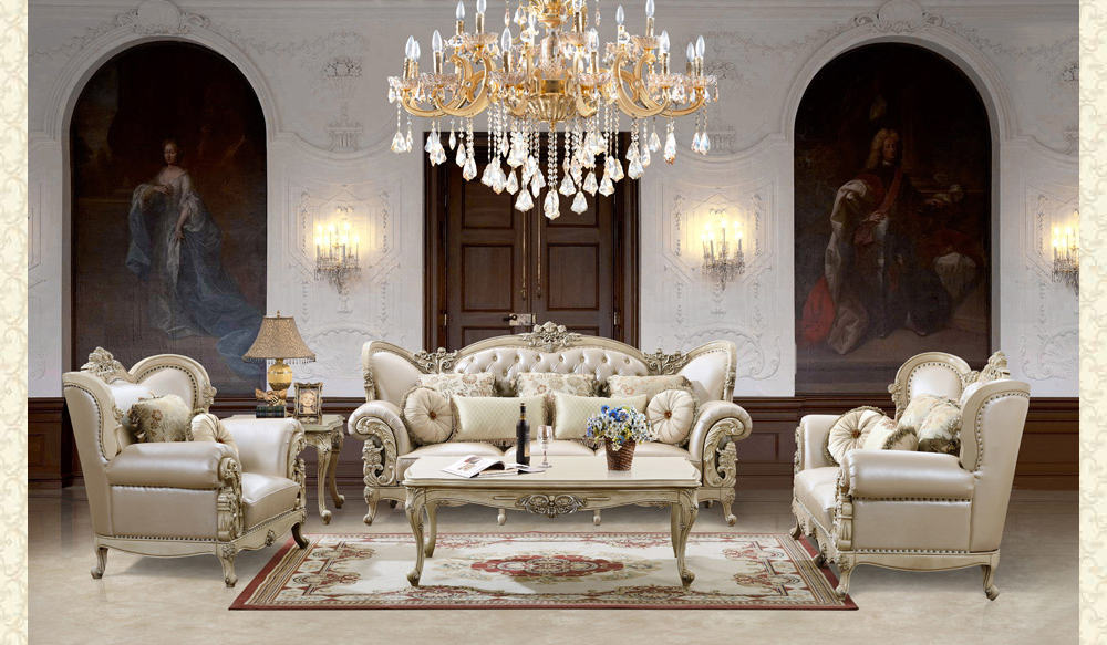 French Provincial Living Room # 9103 - Victorian Furniture