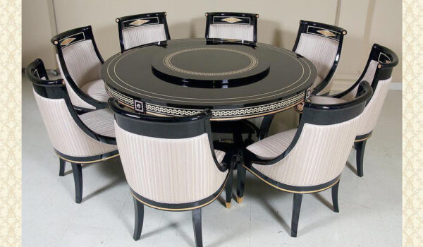 Swarovski Collection Round Dining Table