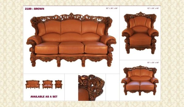Leather Living Room 2189 k