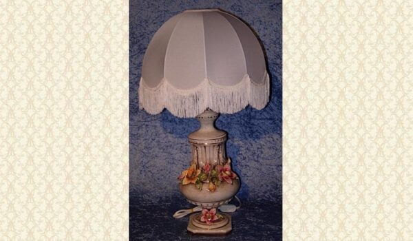 Victorian Table Lamp & Shade X3027-OP