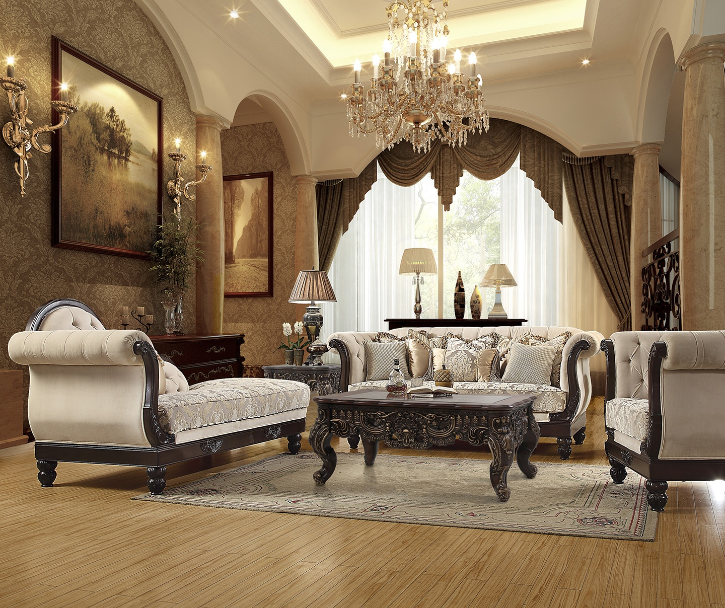 French Provincial Living Room # 2651
