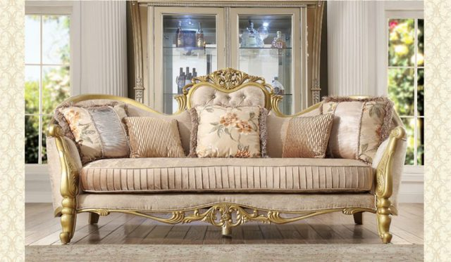 French Provincial Living room 663