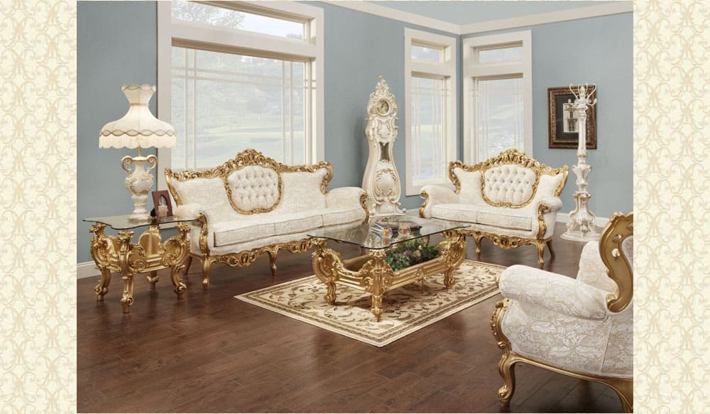 Victorian Living Room 609