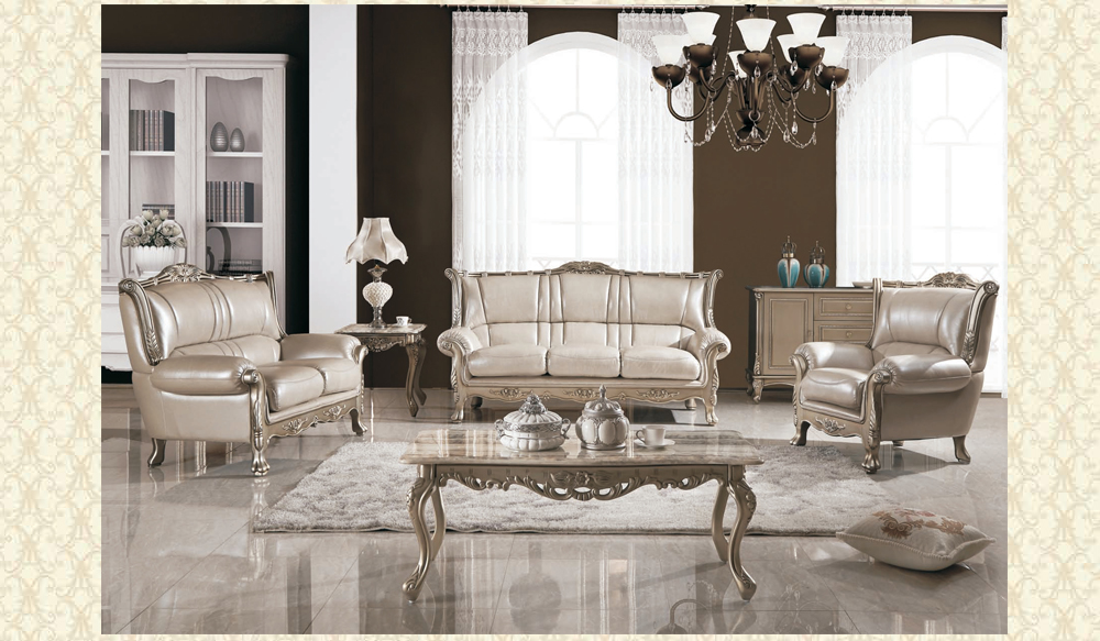 Leather Living Room 992