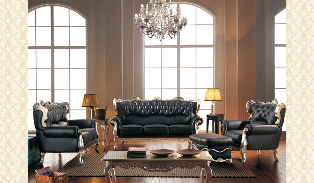 Leather Living Room 2128-B