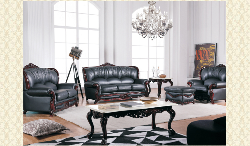 Leather Living Room 989 B