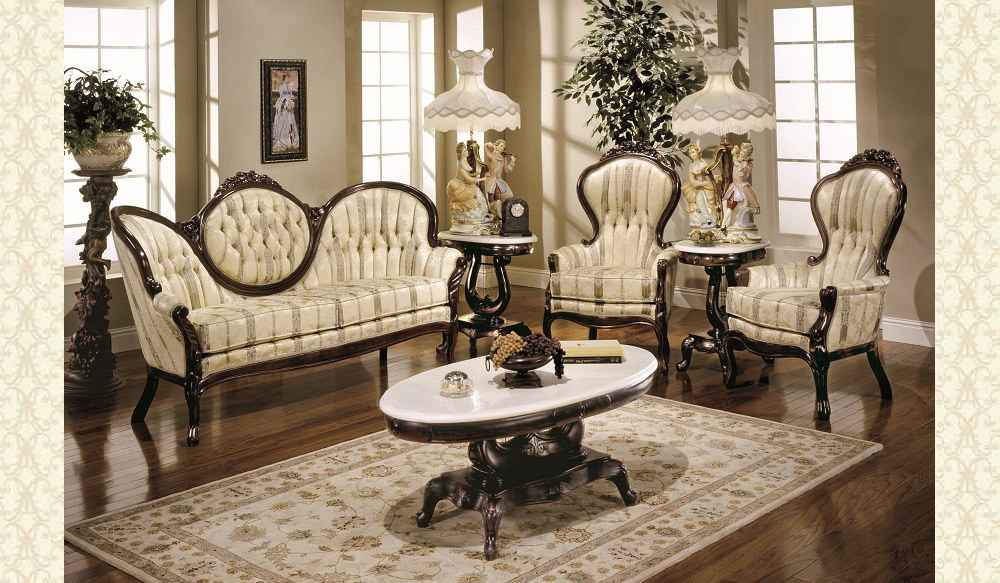 Victorian Living Room 606