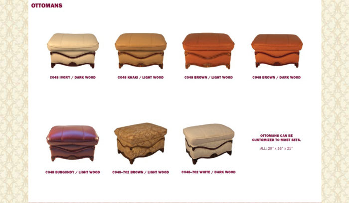 Ottoman Genuine Leather