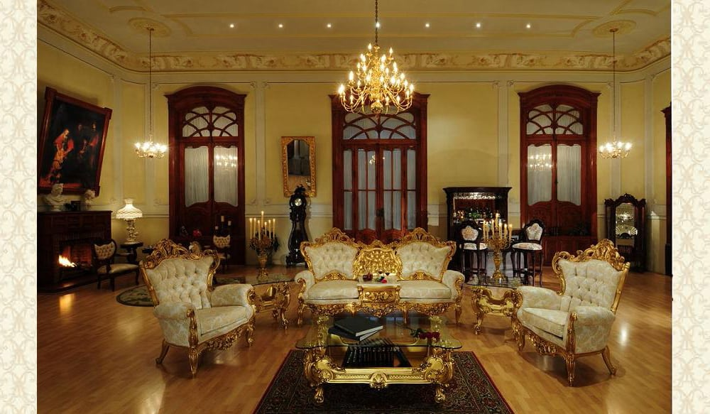 Victorian Living Room 641