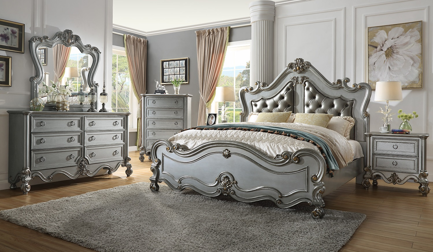 French Provincial Bedroom 999