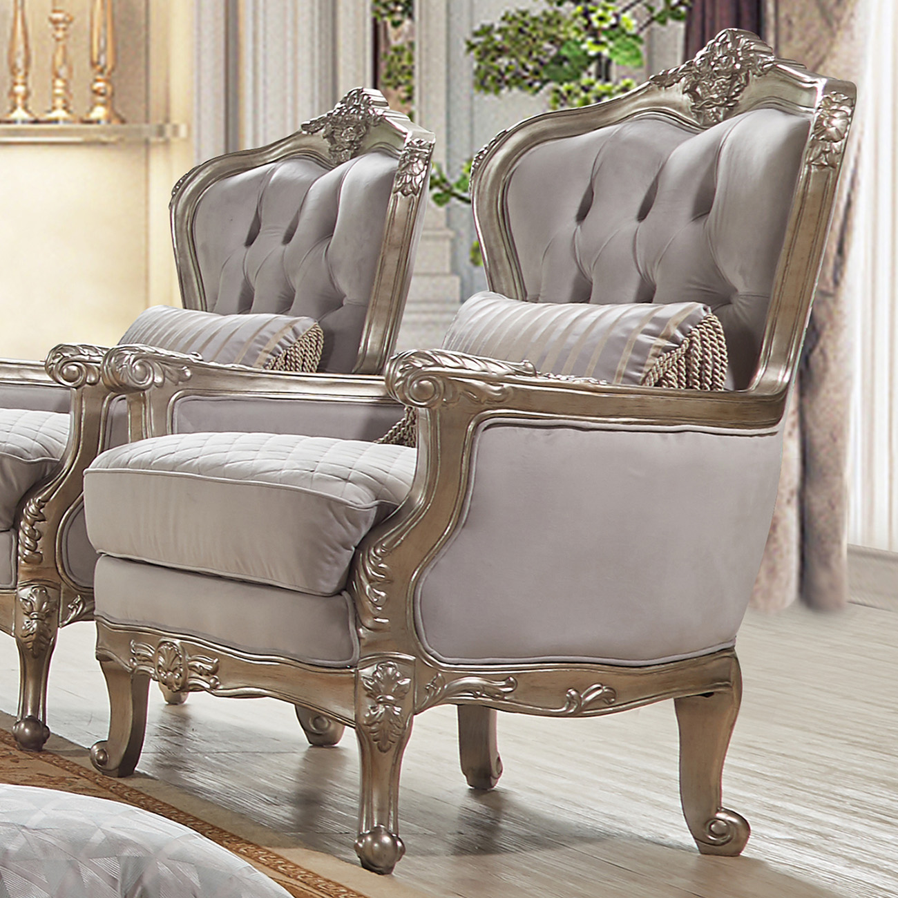 French Provincial Living Room 20339