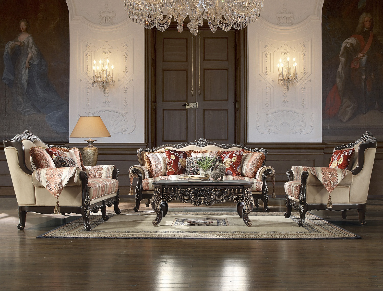 Victorian Living Room # 2638