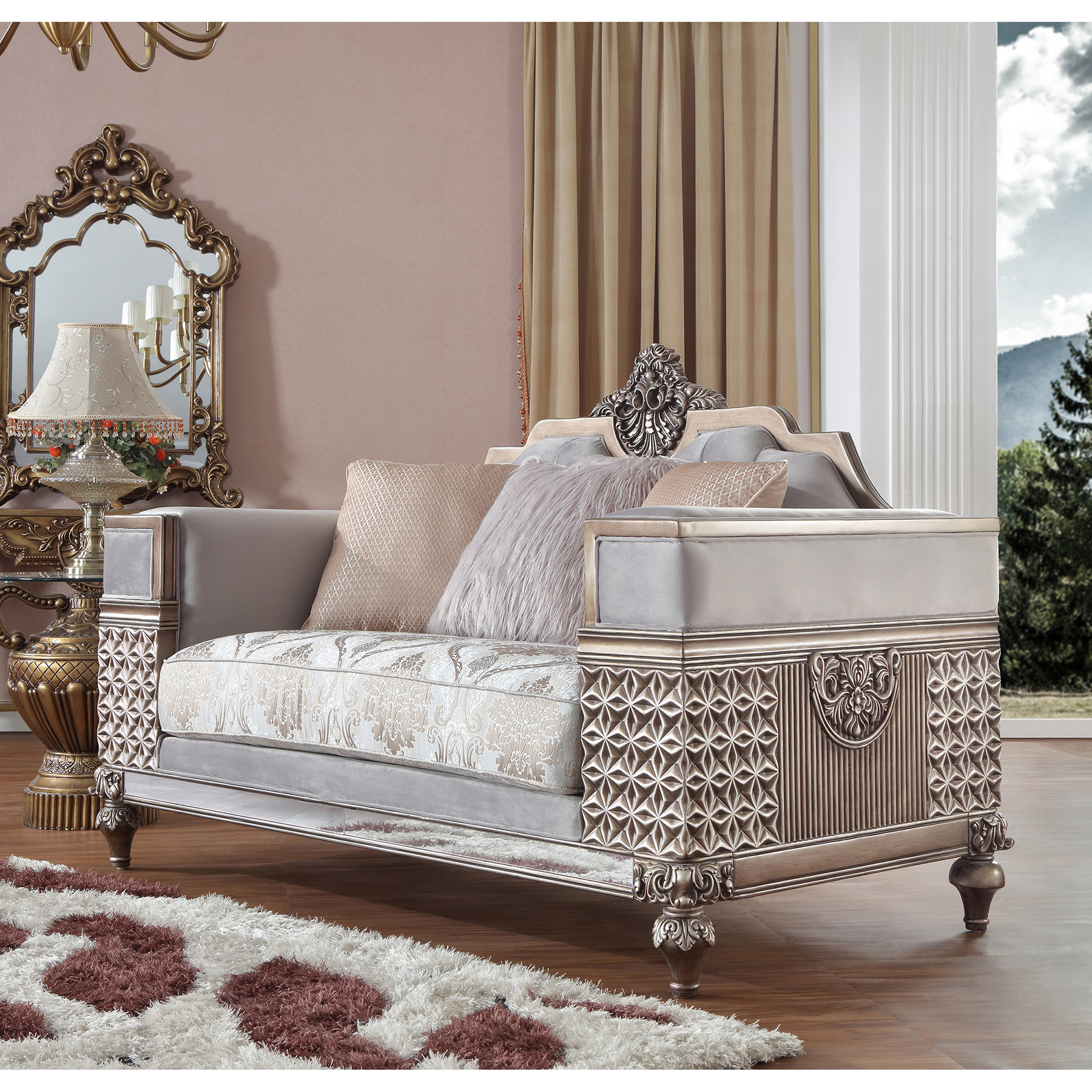 French Provincial Living Room 6033